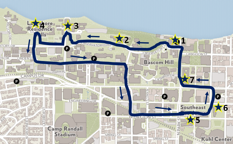 Madison Metro Map.Bus Transportation Services Uw Madison